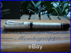 MONTEGRAPPA COSMOPOLITAN BATIK STERLING SILVER Limited Edition Rollerball