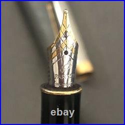 Mint Parker Sonnet Sterling Silver Cisele Fountain Pen 18 K Medium Nib