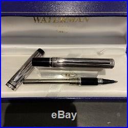 Mint Waterman Man 100 Sterling Silver Rollerball Pen