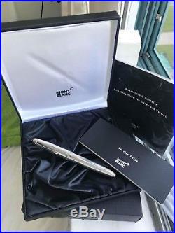 MontBlanc LeGrand 146 Solitaire Sterling Silver Fountain pen- rare PURE version