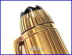 MontBlanc Sterling Silver 925 Vermeil Meisterstuck 164 Pinstripe Ballpoint Pen