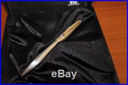 Montblanc 164 164SP Sterling Silver Classique Solitaire Ballpoint Pen MINT