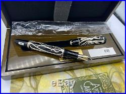 Montblanc Andrew Carnegie Fountain Pen 4810 Patrons of Art NEW Year 2002