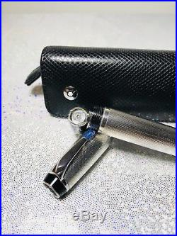 Montblanc Boheme 925 STERLING SILVER Bleu Azur fountain pen M nib