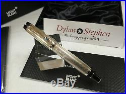 Montblanc Boheme Arabesque azur 925 sterling silver rollerball pen NEW rare