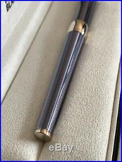 Montblanc Etoile Mediterranee Sterling Silver & Diamond Rollerball Roller Pen