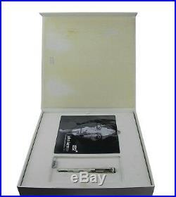 Montblanc John Lennon Solid Silver Fountain Pen Tanzanite 1940 Edition 105810
