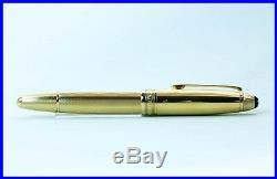 Montblanc MEISTERSTÜCK 146 LeGrand 925 Sterling SILVER Gold VERMEIL fountain pen