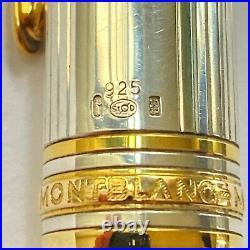 Montblanc Meisterstuck 146 Sterling Pinstripe LeGrand Fountain Pen, W. Germany