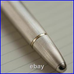 Montblanc Meisterstuck 146 Sterling Silver Barley LeGrand Fountain Pen