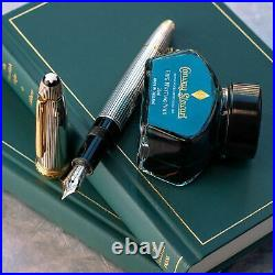 Montblanc Meisterstuck 146 Sterling Silver Wedding LeGrand Fountain Pen