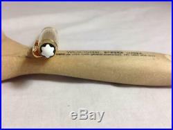 Montblanc Meisterstuck Classic Vermeil Gold. 925 Sterling Silver Ballpoint Pen