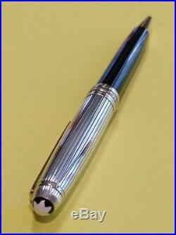 Montblanc Meisterstuck Doue Sterling Silver 925 Pinstripe Ballpoint Pen