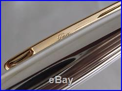 Montblanc Meisterstuck Solitaire 1448 Fountain Pen Sterling Silver 925