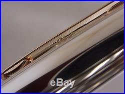 Montblanc Meisterstuck Solitaire Doue 1441 Fountain Pen Sterling Silver Cap