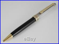 Montblanc Meisterstuck Solitaire Doue Sterling Silver Ballpoint Pen