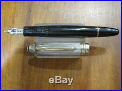 Montblanc Meisterstuck Solitaire Fountain Pen-doue Sterling Silver M146
