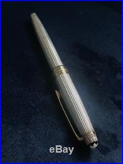 Montblanc Meisterstuck Solitaire Mozart Ballpoint Sterling Silver 925k