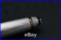 Montblanc Meisterstück Solitaire Sterling Silver 144 Classique Fountain Pen