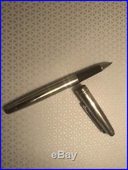 Montblanc Meisterstuck Solitaire Sterling Silver Ballpoint Pen (Original)