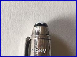 Montblanc Meisterstuck Solitaire Sterling Silver Rollerball Pen