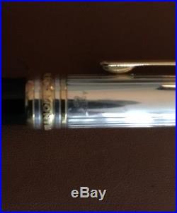 Montblanc Meisterstuck Sterling Silver Ballpoint Pen