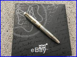 Montblanc Solitaire Sterling Silver Pinstripe 146 Legrand Fountain Pen