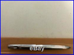 Montblanc Sterling Silver. 925 Pinstripe Ballpoint Pen
