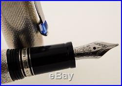 Montblanc boheme fountain pen sterling silver