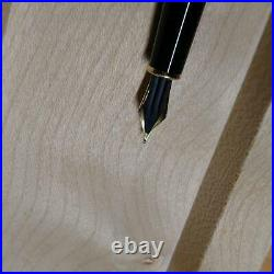 Montblanc fountain pen Meisterstuck Solitaire 1448 Sterling Silver Nib18K/M
