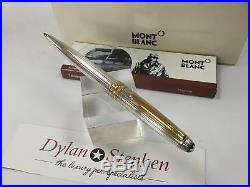 Montblanc meisterstuck solitaire sterling silver classique 164 ballpoint pen