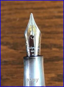 Montegrappa 1912 Fountain Pen. 925 Silver Trim