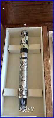 Montegrappa Amerigo Vespucci Sterling Silver Fountain Pen