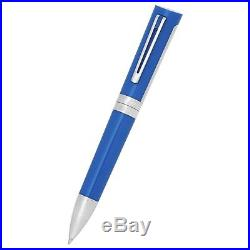 Montegrappa'Bugatti' Ball Point Luxury Pen (Sterling Silver)