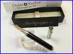 Montegrappa Espressione duetto sterling silver cap rollerball pen