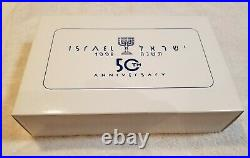 Montegrappa Israel 50th Anniversary New Rollerball withoriginal wooden box 73/500