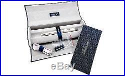 Montegrappa Italia Memoria IS3003SM Striped 925 Sterling Silver Fountain Pen
