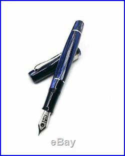 Montegrappa L. E 80 Ammiraglio 1939 Butterfly Blue with Sailor nib Fountain Pen