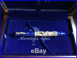 Montegrappa La Sirena Sterling Silver Fountain Pen Limited Edition