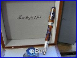 Montegrappa Limited Edition 888 Extra Otto Lapis Celluloid Fountain Pen #8 18K