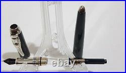 Montegrappa Limited Edition Ayrton Senna Grey/Black Carbon Fibre Fountain Pen