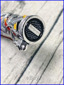 Montegrappa Limited Edition Chaos Solid Silver Fountain Pen Sylvester Stallone