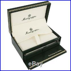 Montegrappa Micra Sterling Silver Charcoal Ballpoint Pen Ismcrbac