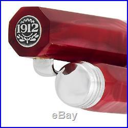 Montegrappa Micra Sterling Silver Red Rollerball Pen ISMCCRAR Italian Made