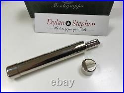 Montegrappa Reminiscence 925 sterling silver fountain pen 18K F = fine nib