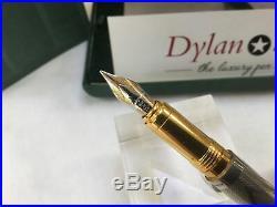 Montegrappa Reminiscence sterling silver 925 fountain pen 18K medium nib
