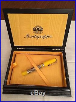 Montegrappa Yellow Millennium Dragon 2000 Sterling Silver Limited Edition 366 M