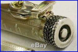 Montegrappa'tribute To Ayrton Senna' Sterling Silver Ltd. Ed. Fountain Pen 1995