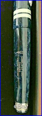 NEW Delta Indigenous People Tuareg Sterling Silver Fountain Pen 18K M Nib