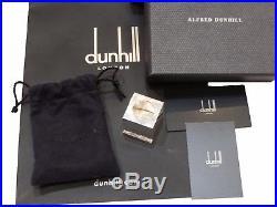 New Alfred Dunhill 925 Sterling Silver Pen Snooker Pool Bag Lighter Chalk Holder
